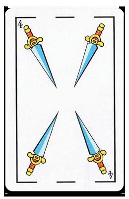 Cuatro de Espadas