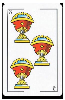 Tres de Copas