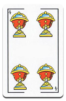 Cuatro de Copas