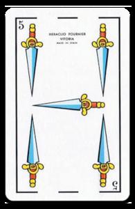 Cinco de Espadas